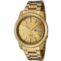 [セイコー] SEIKO 5 Automatic 自動巻き メンズ 腕時計 SNKE56K1 《並行輸入品》  ゴールド