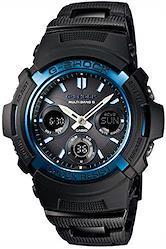 [カシオ] 腕時計 ジーショック 電波ソーラー AWG-M100BC-2AJF ブラック  文字盤色-ブラック