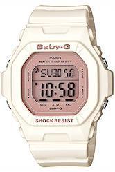 [カシオ] 腕時計 ベビージー BG-5606-7BJF ホワイト  ホワイト