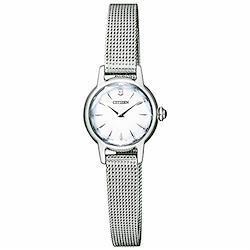 [シチズン]CITIZEN キー Kii: エコドライブ ソーラー 腕時計 レディース クラシック メッシュバンド EG2990-56A