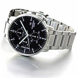 [イッセイミヤケ]ISSEY MIYAKE 腕時計 メンズ C シー 岩崎一郎デザイン クロノグラフ NYAD001