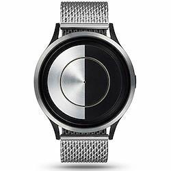 Ziiiro (ジーロ) 腕時計 Lunar (ルナ) ガンメタル オーシャン クロム