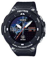 [カシオ] 腕時計 スマートアウトドアウォッチ プロトレックスマート GPS搭載 WSD-F20-BK ブラック  文字盤色-マルチカラー
