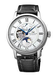 [オリエント時計] 腕時計 オリエントスター メカニカルムーンフェイズ 機械式 自動巻(手巻付) ホワイト RK-AM0001S