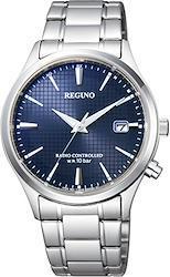 [シチズン] 腕時計 レグノ KL8-911-71 ソーラーテック電波時計 メンズ One Size 文字盤色-ブルー