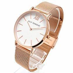 [ALLY DENOVO(アリーデノヴォ)] 腕時計 ブレスタイプ AF5014.4 [並行輸入品]  ゴールド