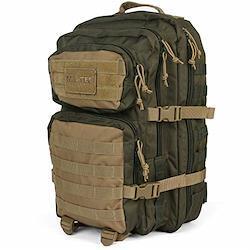 MIL-TEC バックパック US Assault Pack モールシステム 大 36L - RANGER GREEN/COYOTE L RANGER GREEN/COYOTE