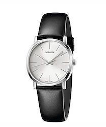 [カルバン クライン] 腕時計 Posh(ポッシュ) 3針 K8Q331C6 レディース 正規輸入品 ブラック  文字盤色-シルバー