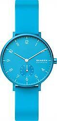 [スカーゲン] 腕時計 AAREN SKW2818 レディース 正規輸入品 ブルー  ネオンブルー