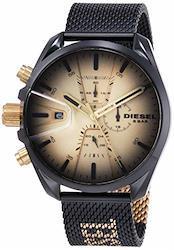 (ディーゼル) DIESEL メンズ ウォッチ 腕時計 クォーツ DZ451700QQQ UNI ブラック 01