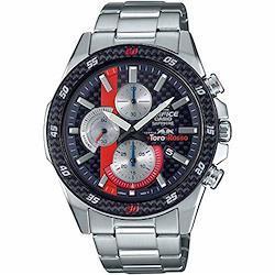 [カシオ]エディフィス スクーデリア・トロロッソ・リミテッドエディション EFR-S567TR-2A ネイビー×レッド 腕時計 メンズ [並行輸入品]