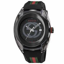 [グッチ] 腕時計 SYNC YA137107A メンズ 並行輸入品 ブラック  ブラック