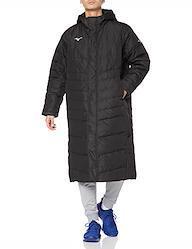 [ミズノ] トレーニングウエア ロングダウンコート 32ME0550 メンズ ブラック 日本 L (日本サイズL相当) L ブラック