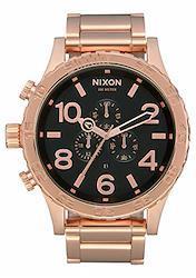 [ニクソン] NIXON 腕時計 51-30 CHRONO: ALL ROSE GOLD/BLACK A083-1932-00 メンズ [並行輸入品]  ローズゴールド