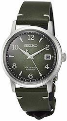 [セイコーウォッチ] 腕時計 プレザージュ SARY181 メンズ カーフレザー  文字盤:グリーングラデーション