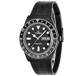 [TIMEX] 腕時計 Q TIMEX TW2U61600 メンズ ブラック