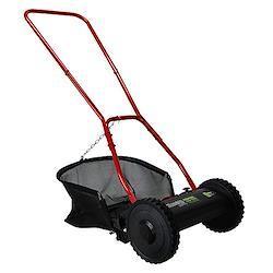 ミナトワークス 手押し芝刈り機 ブラック (リール式5枚刃/刈幅300mm) LMA-300(BK)