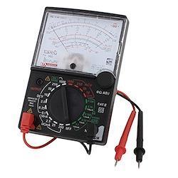 uxcell アナログメーター マルチテスター DC AC 電圧 電流 抵抗試験