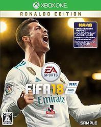 FIFA 18 RONALDO EDITION 【限定版同梱物】・STANDARD EDITION (通常版) より最大3日間の早期アクセス ・5試合FUTレンタル選手のCristiano Ronaldo ・ジャンボプレミアムゴールドパック20個 (1 × 20週間) ・スペシャルエディションのFU