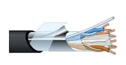 LANケーブル RJC6A-4P-F-EM(200m)