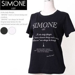 SHIMONE LIST(シモーネリスト)半袖カットソー Cut sew