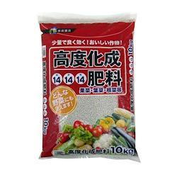 あかぎ園芸 高度化成肥料14-14-14 10K 2袋 (4939091521018)