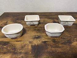 3.5号 磁器山水 盆栽鉢