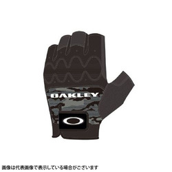 Oakley(オークリー) HALF FINGER GLOVE 4.0 94294JP-00G BLACK PRINT M