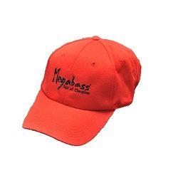 メガバス メガバスFIELD CAP BRUSH LOGO RD/BK