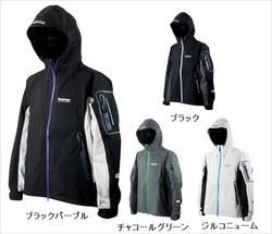 パズデザイン SBR-036 BSストレッチレインジャケット L チャコールグリーン