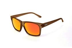GRASSER Matte Clear brown x Fire orange Polarized