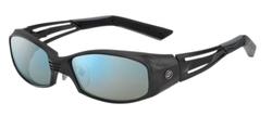 ZEAL OPTICS ジールオプティクス 偏光サングラス VERO(ベロ) 2nd F-1324 オールマットブラック レンズ:トゥルービュー スポーツ/ブルーミラー
