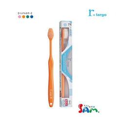 サムフレンド 歯ブラシ r アールシリーズ largo ラルゴ ソフト・ミディアム カラー:アソート