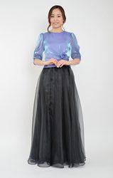 グラスオーガンジースカート