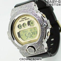 BABY-G ベビージー カスタム レディース 腕時計 BG-6901 BG6901-1JF おしゃれ 少女時代 SNSD テヨン 芸能人 ブランド カスタムベゼル CROWNCROWN BG6900-016