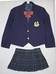 日本の学校の制服(東京高等学校(冬服))