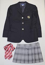 日本の高校の制服 千葉経済大学附属高等学校