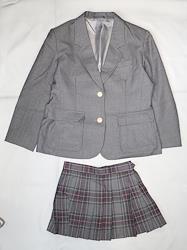 日本の高校の制服 北野高等学校?