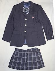日本の高校の制服 一関学院高等学校