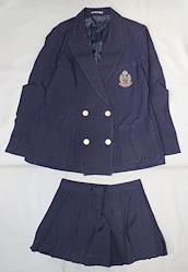 日本の高校の制服 立川女子高等学校