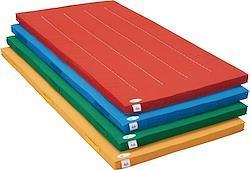 カラー体操マット(90X180X5cm)     (ブルー)