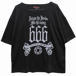 【Deorart ディオラート】TR天竺地 ルーズサイズ 五分袖 カットソー(666)
