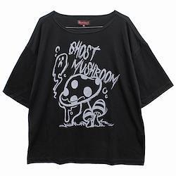 【Deorart ディオラート】TR天竺地 ルーズサイズ 五分袖 カットソー(ghost mushroom)