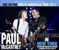 PAUL McCARTNEY - ONE ON ONE NORTH AMERICA TOUR 2017: NEW YORK, MSG TWO NIGHTS (6CDR)