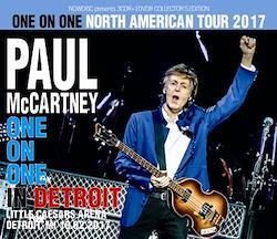 PAUL McCARTNEY - ONE ON ONE IN DETROIT 2017 (3CDR+1DVDR)