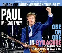 PAUL McCARTNEY - ONE ON ONE IN SYRACUSE (3CDR+1DVDR)