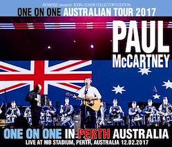 PAUL McCARTNEY - ONE ON ONE IN PERTH: ONE ON ONE AUSTRALIAN TOUR 2017 (3CDR+DVDR)
