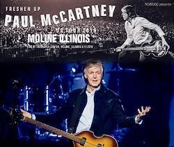 PAUL McCARTNEY - FRESHEN UP TOUR 2019 : MOLINE ILLINOIS (3CDR)