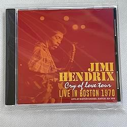 """JIMI HENDRIX - LIVE IN BOSTON 1970  """"CRY OF LOVE"""" TOUR (1CDR)"""