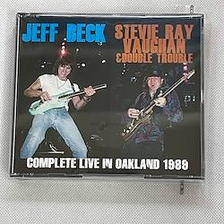JEFF BECK + STEVIE RAY VAUGHAN & DOUBLE TROUBLE - COMPLETE LIVE IN OAKLAND 1989 (3CDR)
